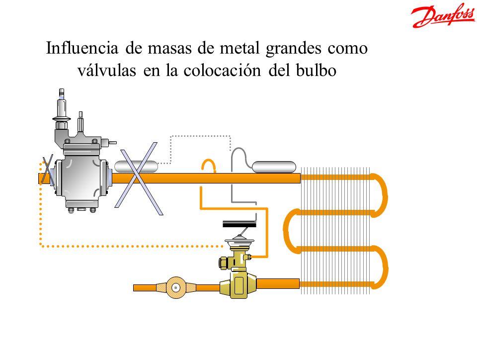 &[Archivo] Influencia de masas de metal grandes como válvulas en la colocación del bulbo